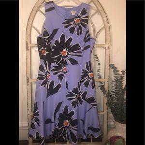 J. Crew Floral Sleeveless Dress